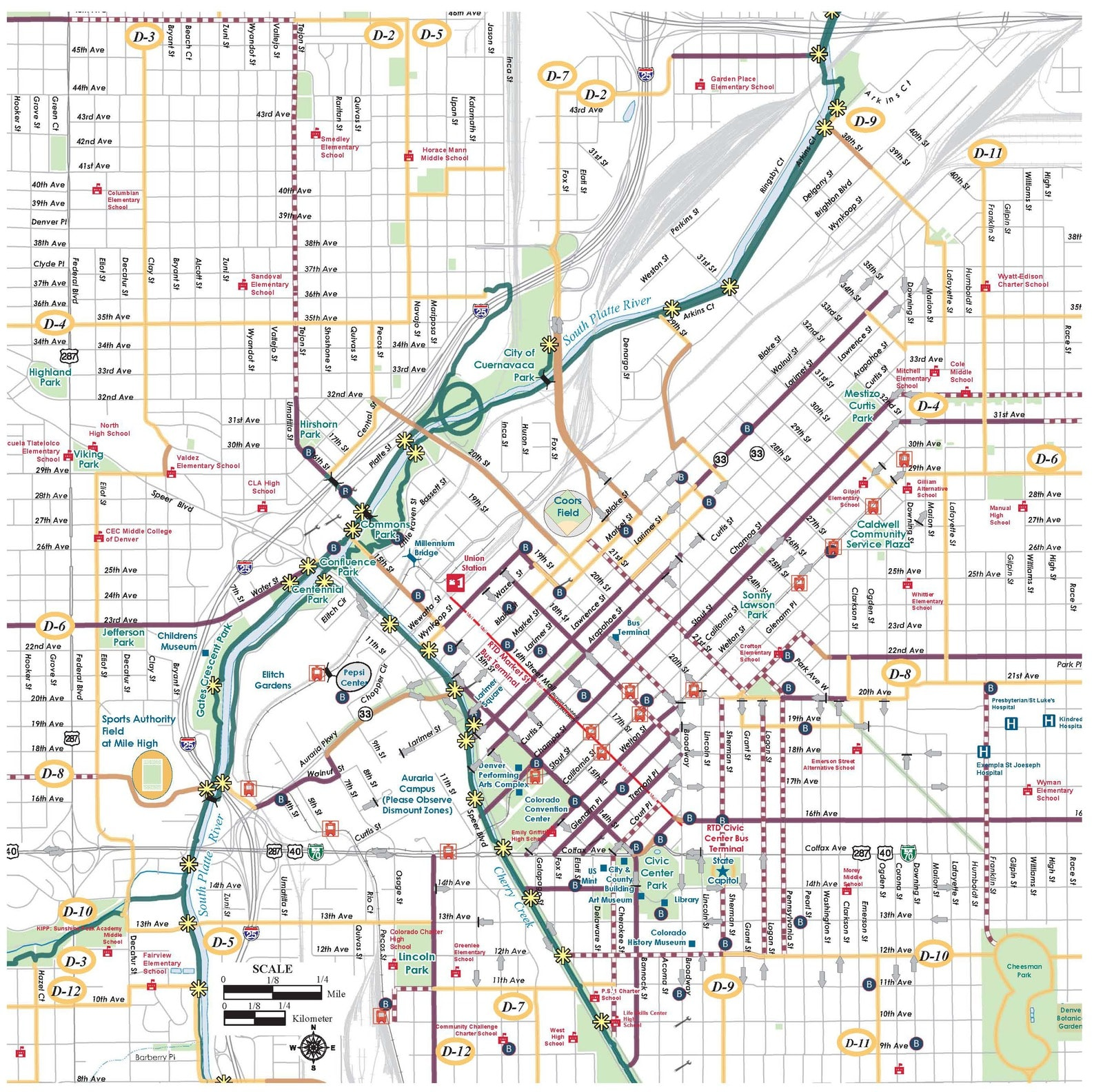 Denver Map: West Colfax BID