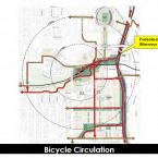 Bike Circulation: Check out the many easy routes from West Colfax to LODO, Auraria and downtown! Thanks to trailsdenver.com, you can now easily access this excellent map showing the myriad bike routes East (shown in blue, green, yellow and red).