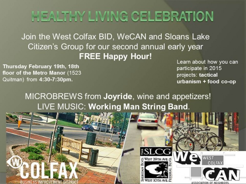 Time to Celebrate West Colfax!