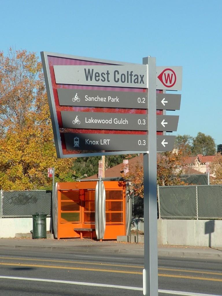 W Colfax BID Wayfinding Signage